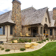 Property in Des Moines that has benefited from the landscaping tips and services we have provided.