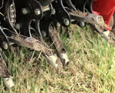 Aeration is a popular service for property owners in West Des Moines, because of the positive results it yields.