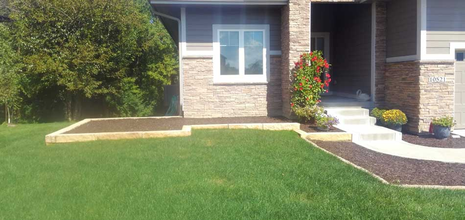 A greener lawn was the result of this homeowner in Ankeny using an organic program for lawn care.