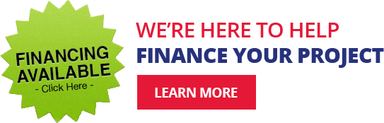 Financing available for customers with approved credit.